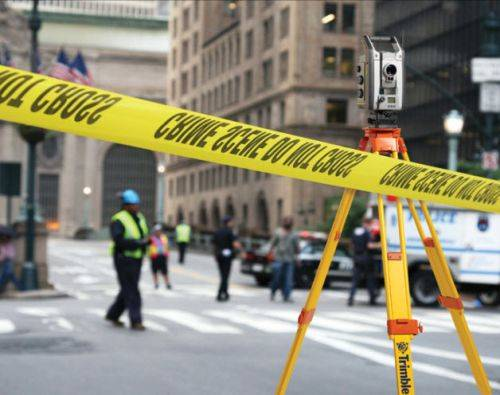 The Trimble Forensics portfolio features exceptional hardware and software. It's backed by a high level of service, training and local or regional support. All law enforcement personnel can process every crime or crash scene to a consistently high standard.