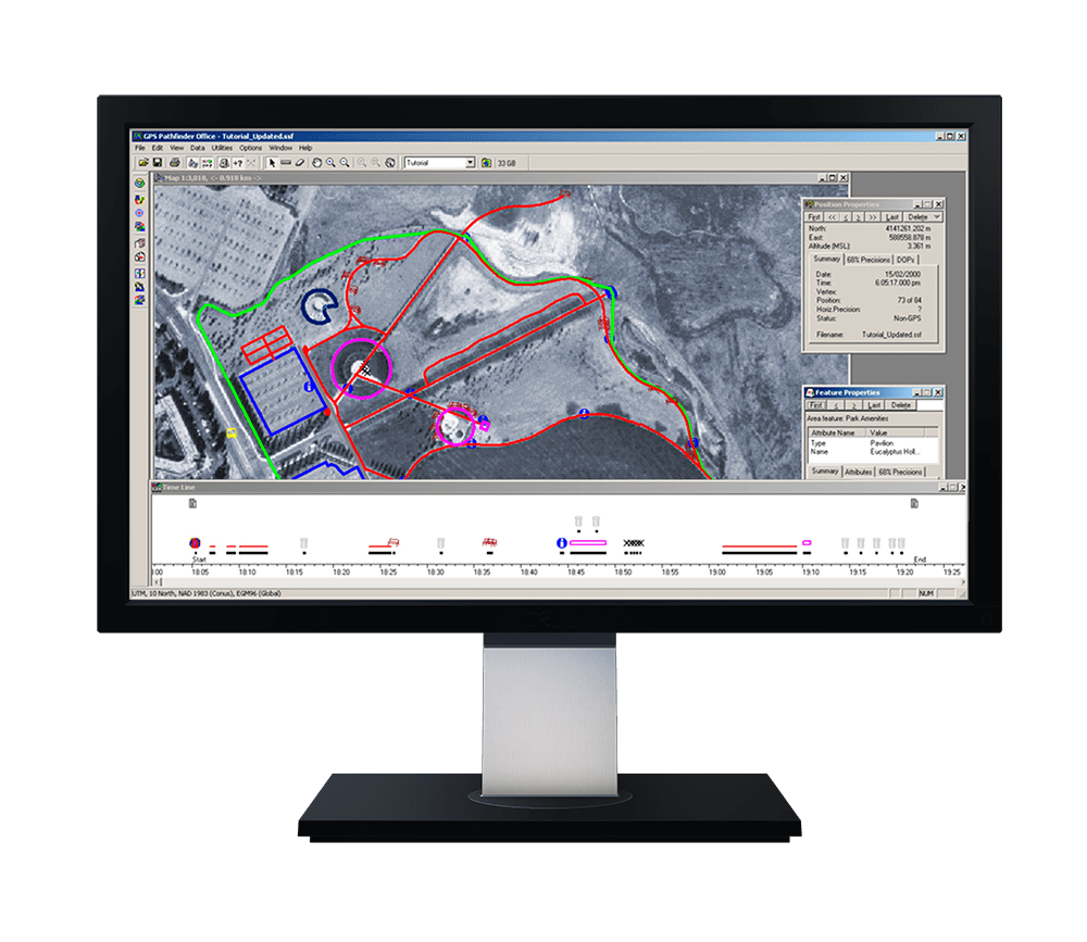 GPS Pathfinder Office Software