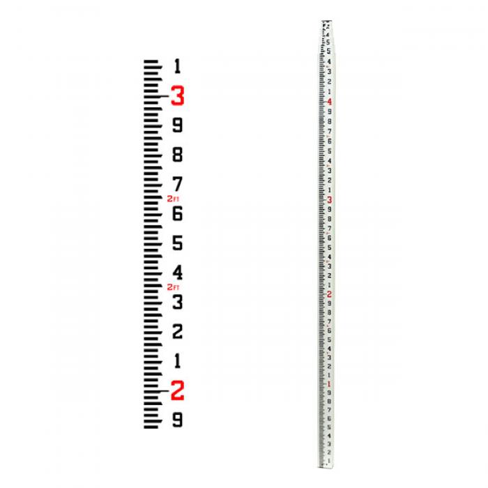 Seco CR 20' Tenths Grade Rod