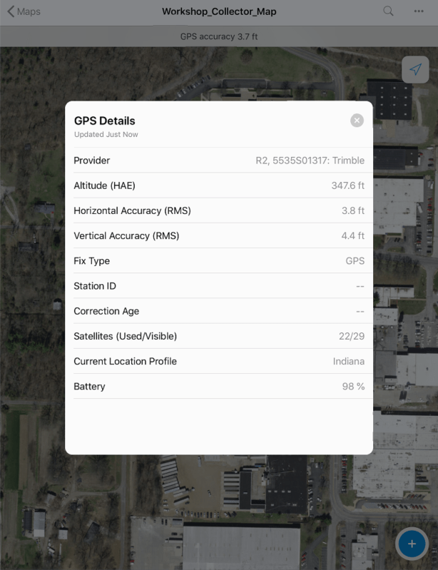 ESRI Collector Update for iOS | | Seiler-Geospatial Division
